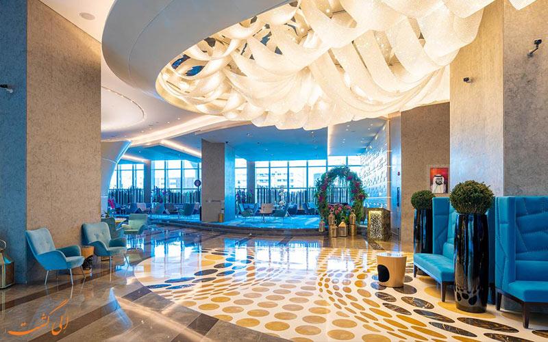 لابی هتل سوفیتل داون تاون دبی