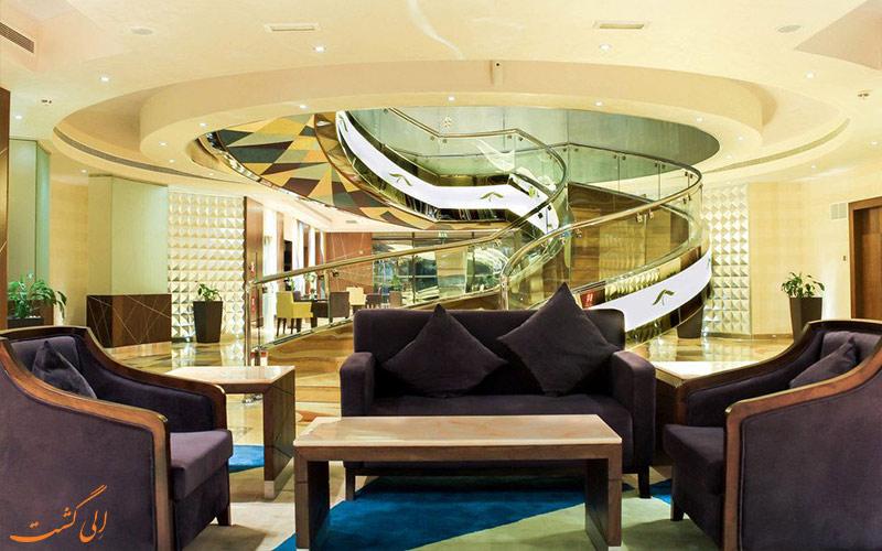 لابی هتل رین تری دبی