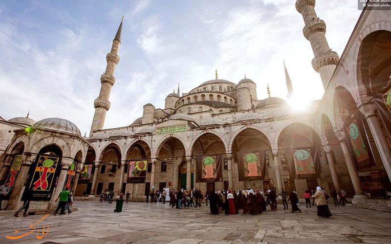 مسجد آبی-تفریحات سفر به استانبول
