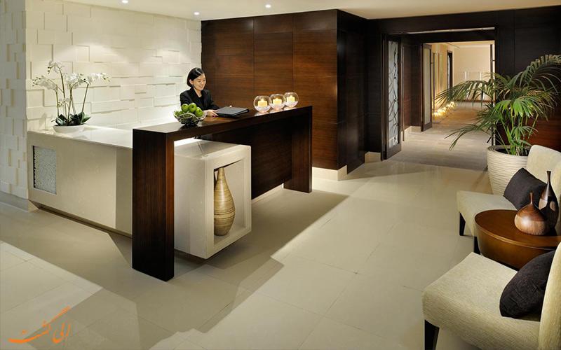 میز پذیرش هتل آسیانا دبی