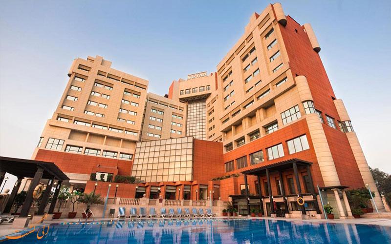 نمای ساختمان هتل سوریا نیو دهلی