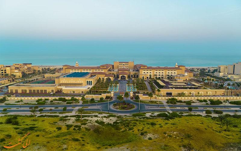 هتل ریکسوس سعدیات آیلند ابوظبی-موقعیت