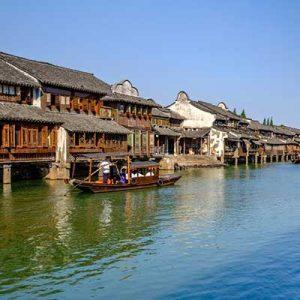ووژن، شهر آبی چین در الی گشت
