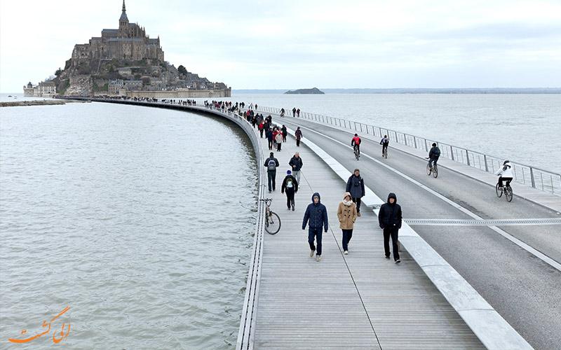 پل د جتی تو مونت-سنت-مایکل-پلهای عابر پیاده جهان