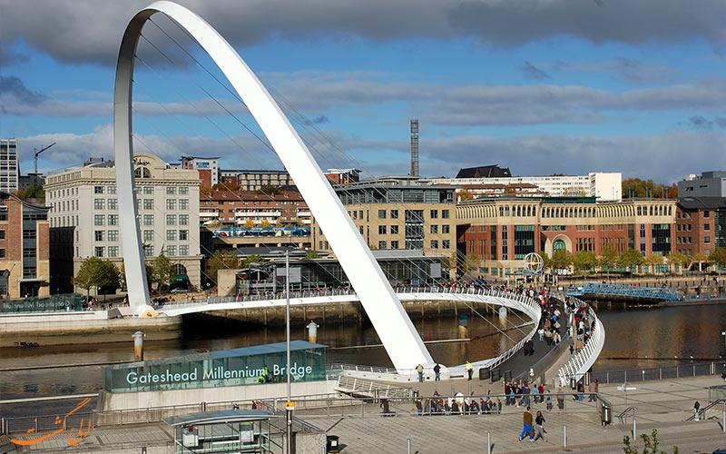 پل هزاره گیتشید-پلهای عابر پیاده جهان