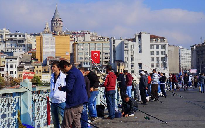 پل گالاتا-تفریحات سفر به استانبول