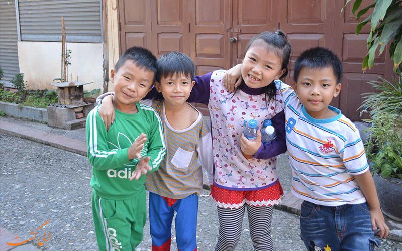 کودکان اندونزیایی بامزه-نکات سفر به شرق آسیا