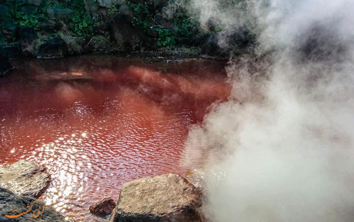 چشمه های آب گرم
