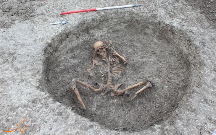 کشف اسکلتهای 3000 ساله در آکسفوردشایر انگلستان