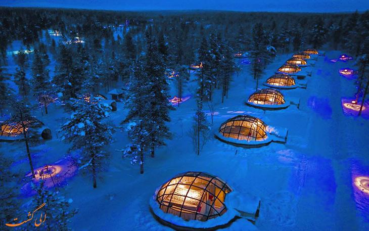هتل های یخی جهان