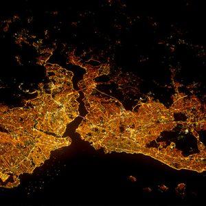 عکس های هوایی از شهرها