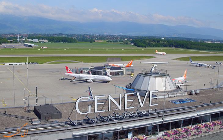 فرودگاه ژنو سوییس