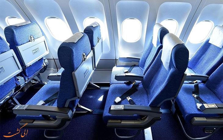 بهترین صندلی ها در هواپیما