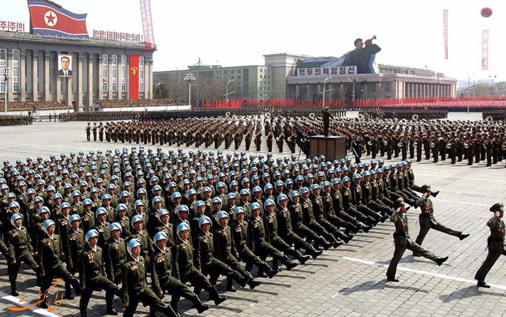 حقایقی از کره شمالی در مورد احزاب و نیروی نظامی