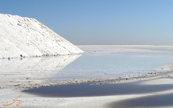 دریاچه نمک جان گرفت