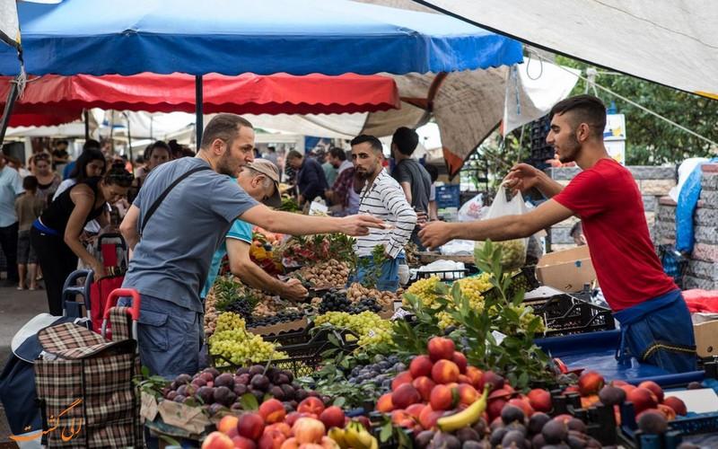 بازار محلی ترکیه
