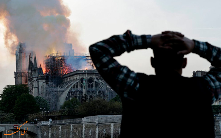 آتش در پاریس