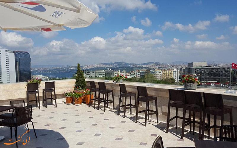 امکانات تفریحی هتل آوانگارد تقسیم استانبول