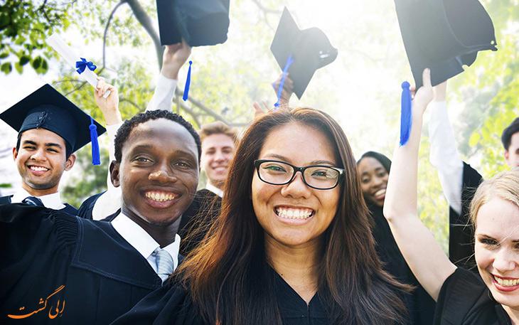 فارغ التحصیلی دانشجویان