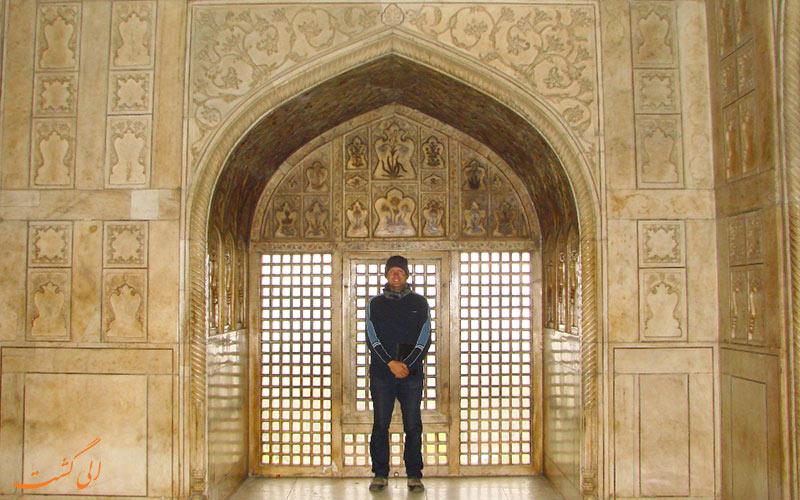 قلعه ی آگرا در هند