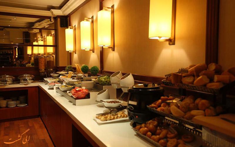 رستوران و کافه های هتل پرا رز استانبول