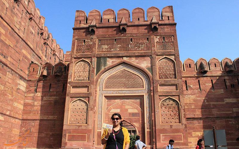 سبک معماری کاخ آگرا در هند-نکات سفر به هندوستان