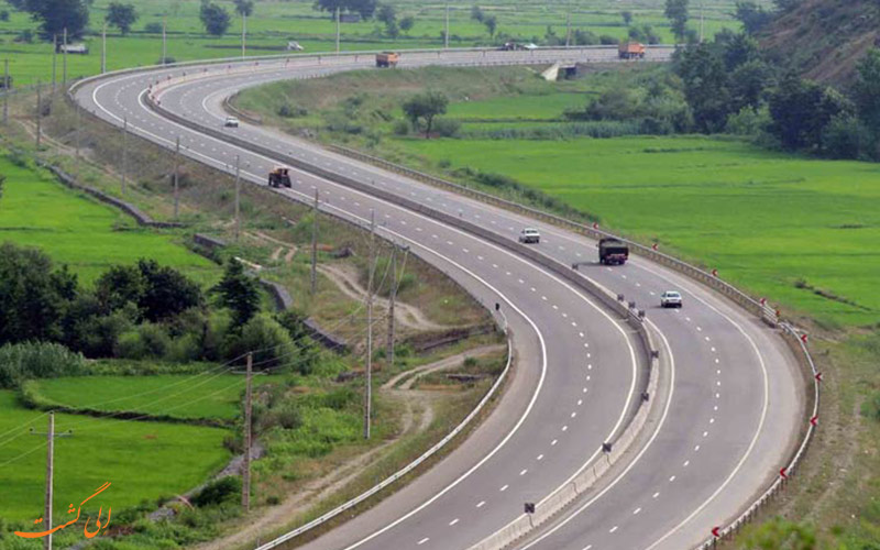 راه های دسترسی به شهر قزوین