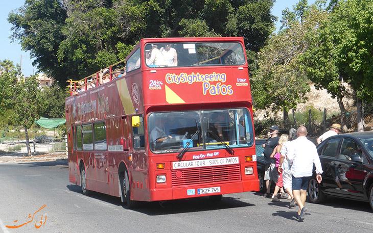 اتوبوس گردشگری در قبرس