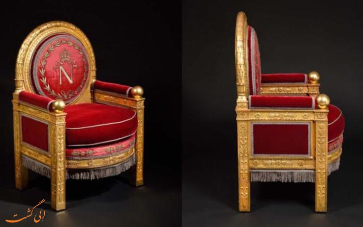 تخت سلطنتی امپراتور فرانسه