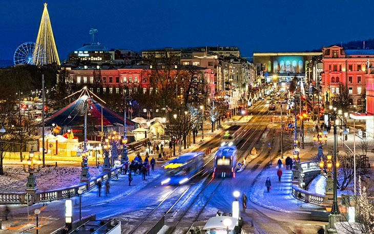 شهر گوتنبرگ سوئد