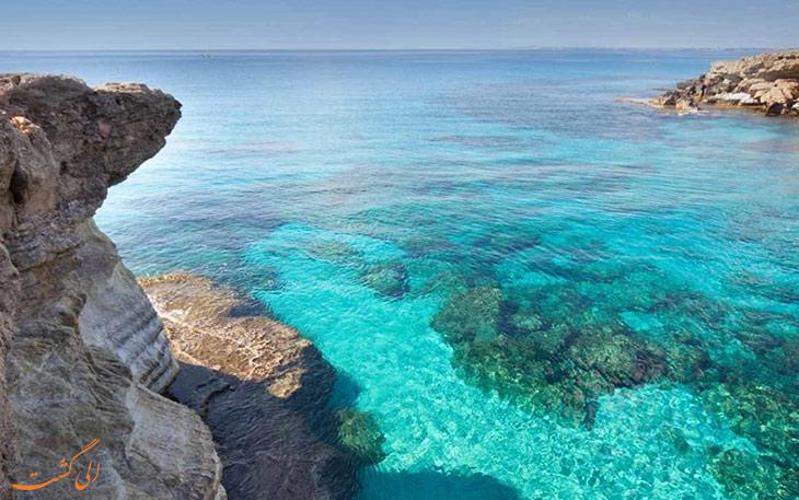 دریای مدیترانه در قبرس