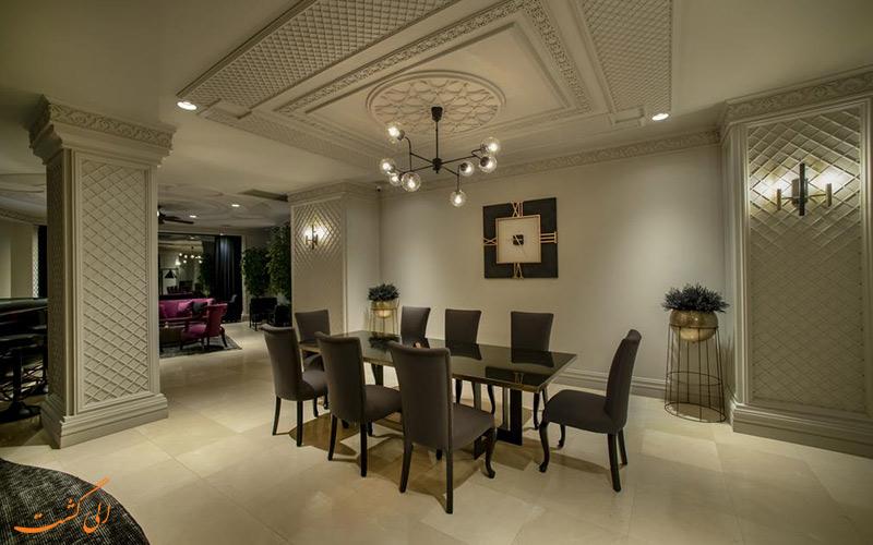 هتل اوتومون پالاس استانبول و خدمات و امکانات این هتل مجهز