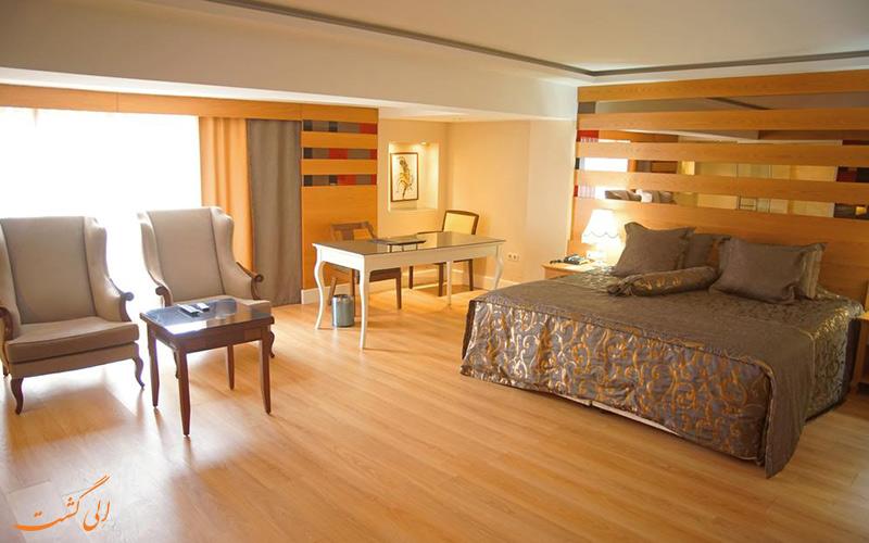 انواع اتاق های گرینپارک هتل تقسیم استانبول