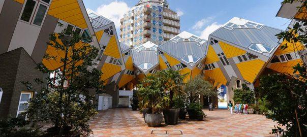 با خانه های روبیک روتردام آشنا شوید