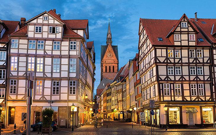 شهر هانوفر آلمان