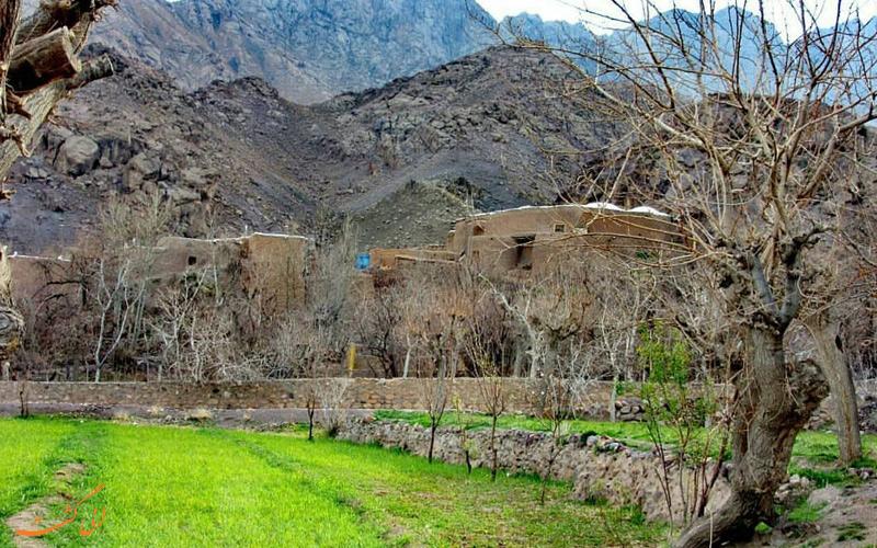 جاذبه های طبیعی روستای سنو