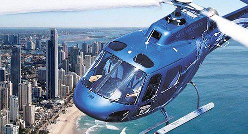 هلیکوپتر سواری در جهان