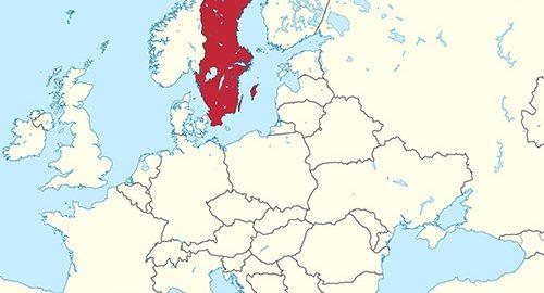 استان های کشور سوئد