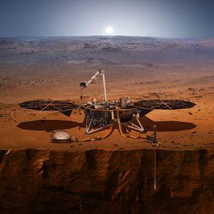 ثبت نخستین مریخ لرزه توسط کاوشگر اینسایت ناسا