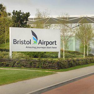 فرودگاه بریستول انگلستان