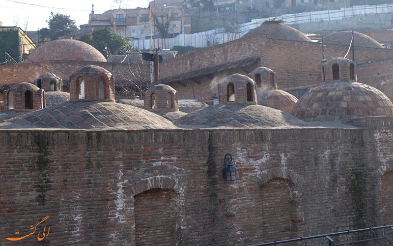حمام های گوگردی تفلیس | Sulfur baths in Tbilisi