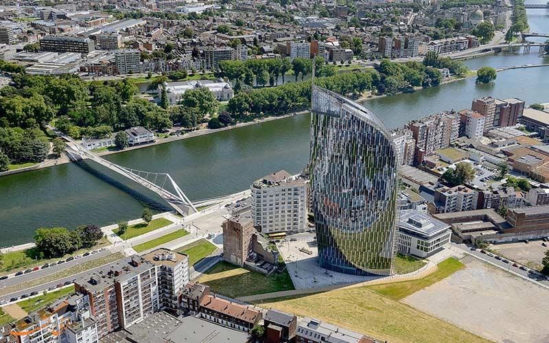 شهر لیژ در بلژیک   Liège