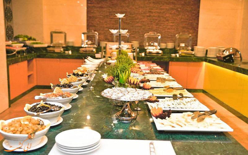 رستوران و کافه های گرینپارک هتل تقسیم استانبول
