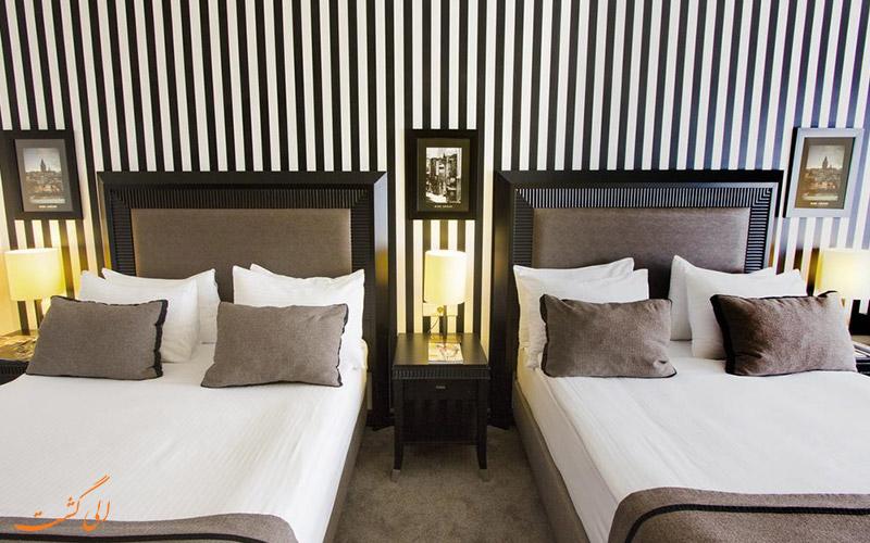 انواع اتاق های هتل آوانگارد تقسیم استانبول