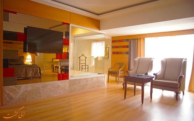 امکانات اتاق های گرینپارک هتل تقسیم استانبول