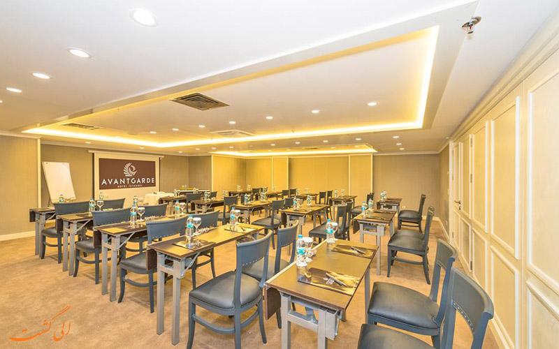 خدمات رفاهی هتل آوانگارد تقسیم استانبول