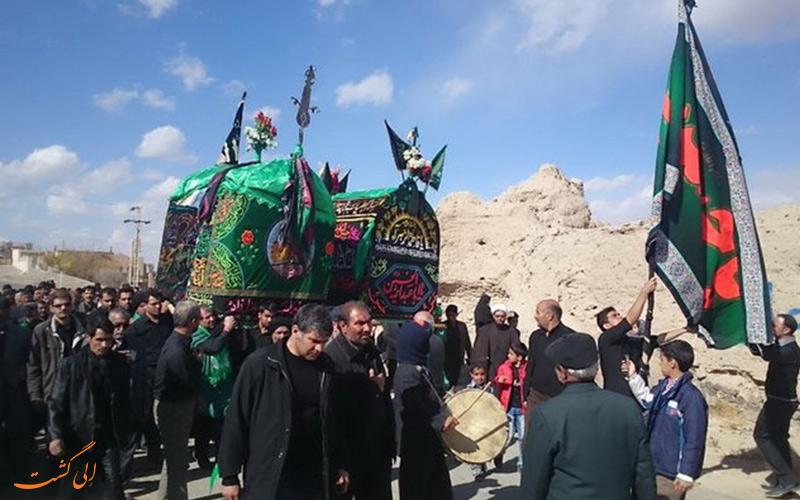 آداب و رسوم اهالی روستای سنو