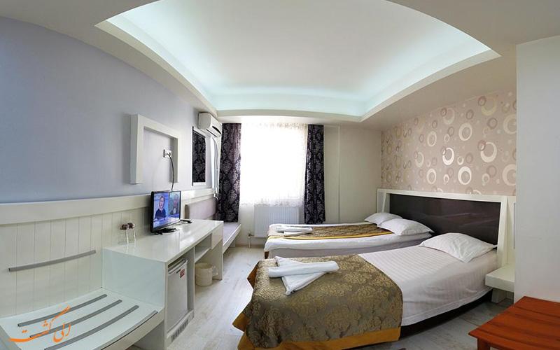 امکانات اتاق های گراند آس هتل استانبول