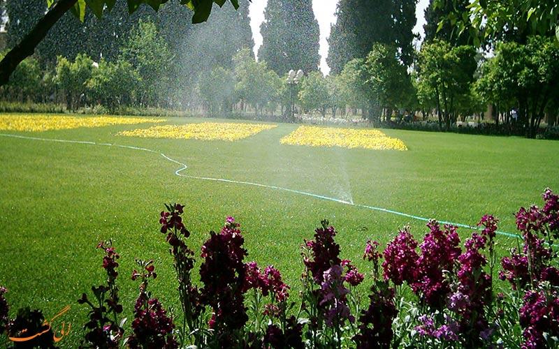 همه چیز درباره ی باغ جهان نمای شیراز
