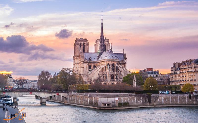کلیسای نوتردام در پاریس | Notre Dame de France